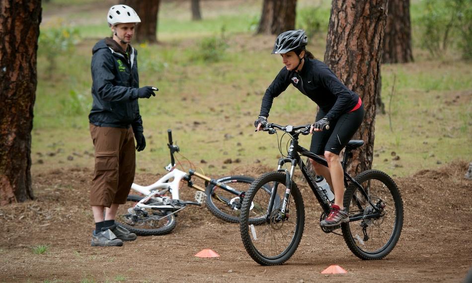 Mountain Bike Skills Classes in Spokane WA by Evergreen East.