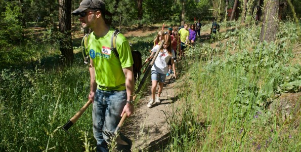 City School Trail Day at Camp Sekani