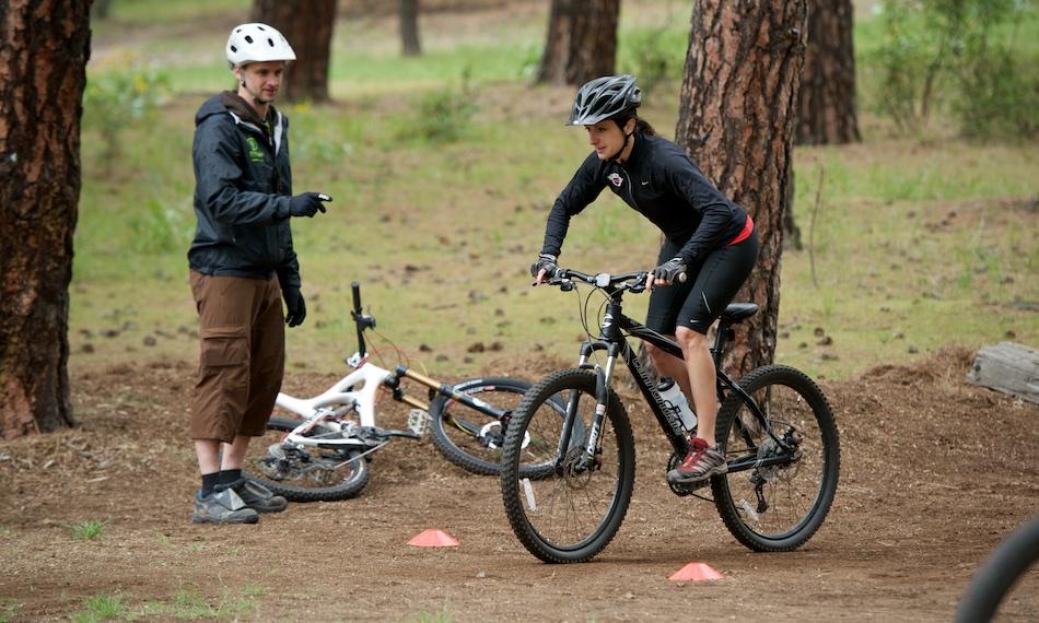 Basic Mountain Bike Skills Class