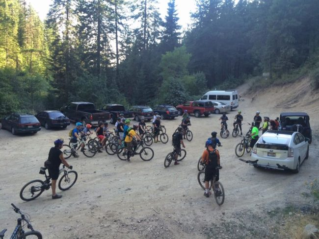CDA Bike Co- Wed Burgers and Beers Group Ride @ Canfield Mtn | Coeur d'Alene | Idaho | United States