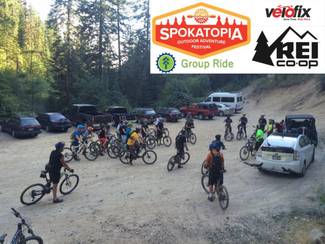 Evergreen Spokatopia Group Ride @ Camp Sekani