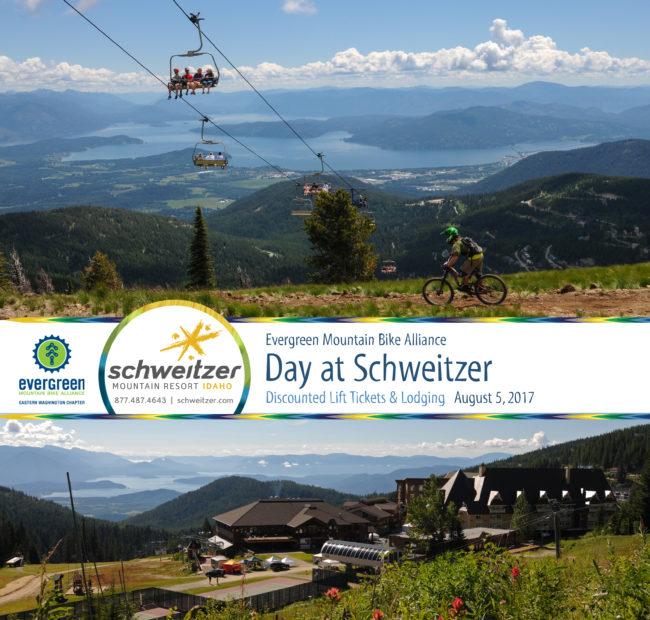 Evergreen Day at Schweitzer Mtn Bike Park @ Schweitzer Mountain Resort | Sandpoint | Idaho | United States