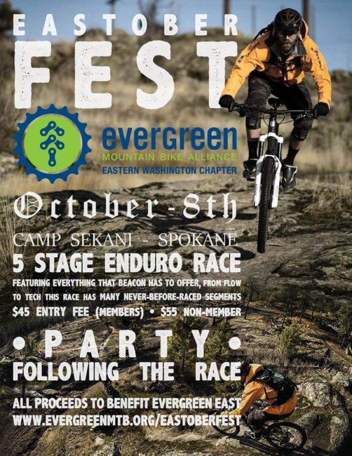Evergreen Enduro Eastoberfest @ Camp Sekani