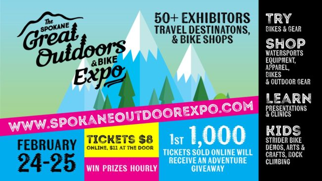 Great Outdoors & Bike Expo @ Spokane Convention Center | Spokane | Washington | United States